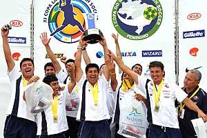 Chile se consagr� campe�n de la Copa Latina de f�tbol playa