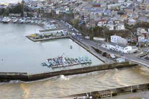 Tsunamis post terremoto en Chile causaron da�os por 50 millones de euros en Jap�n