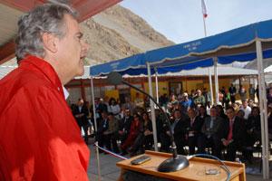 Inauguran servicio de telefon�a e Internet en aislada localidad del Valle de Elqui