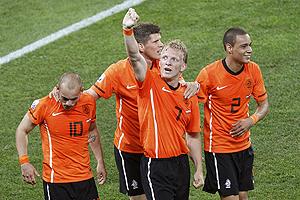 Holanda oficializa su candidatura al vencer a Eslovaquia