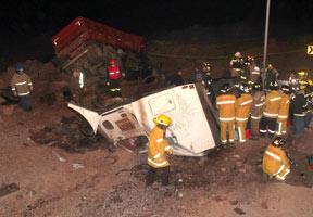 Tres fallecidos deja nuevo accidente carretero ocurrido en el norte del pa�s