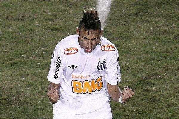 El impresionante golazo de Neymar que paraliz� al f�tbol brasile�o