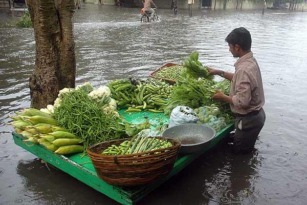 Diecis�is muertos y 1,3 millones de afectados por inundaciones en el este de India