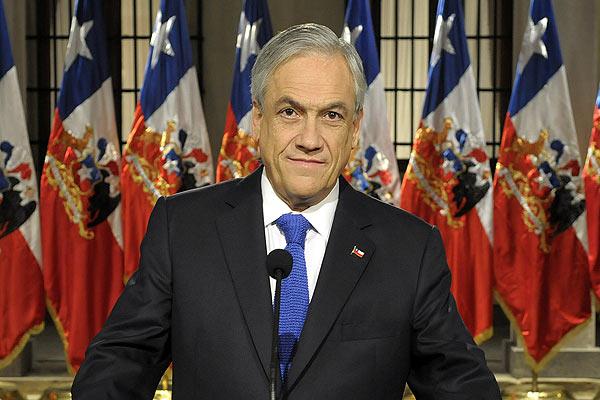 Piñera define marco en conflicto Anglo-Codelco: Acuerdo o decisión de Tribunales chilenos