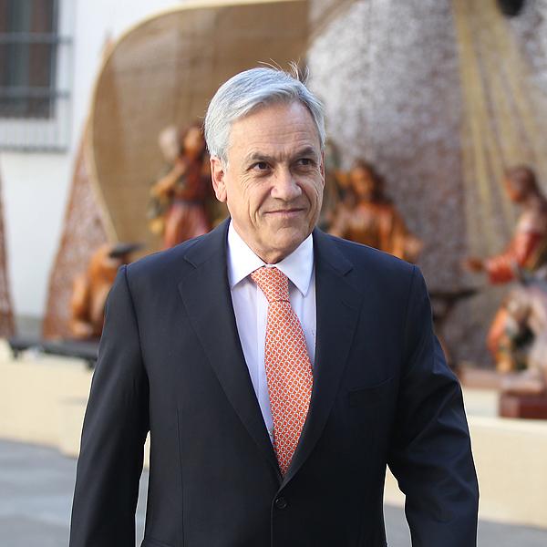 Presidente Piñera lamenta en ceremonia navideña 'tanta incomprensión y tanto ataque'