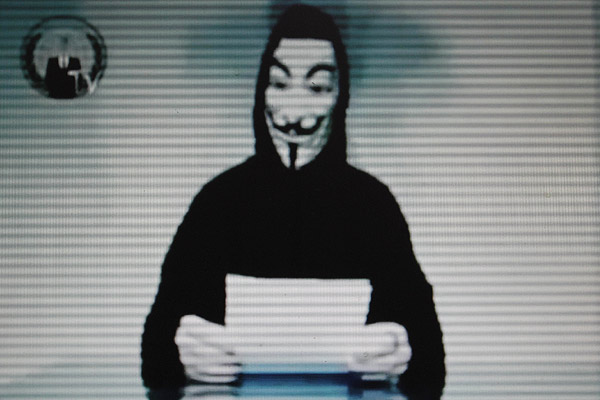 'Piratas' de Anonymous se atribuyen ataque a sitio web de la CIA