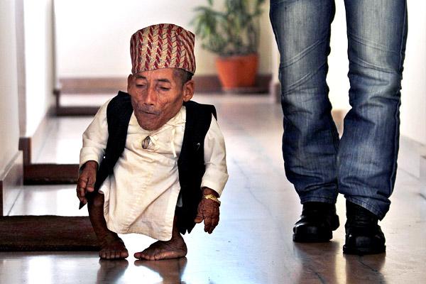 el hombre mas pequeno de la historia: