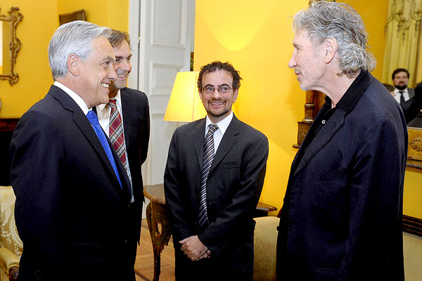 Embajador britnico 'sorprendido' por reaccin de Roger Waters