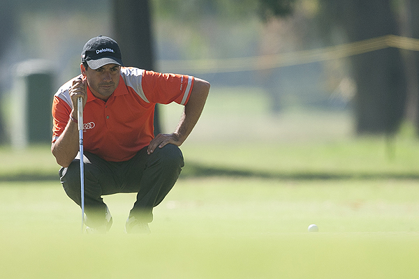 Golf: Felipe Aguilar pas� el corte clasificatorio en el Volvo China Open