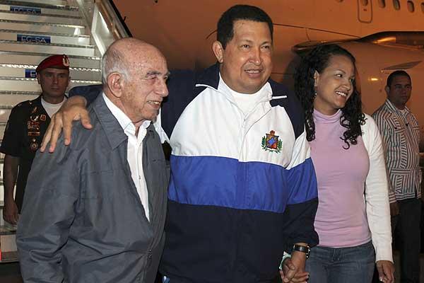 Gobierno venezolano desmiente rumores sobre agravamiento de Ch�vez