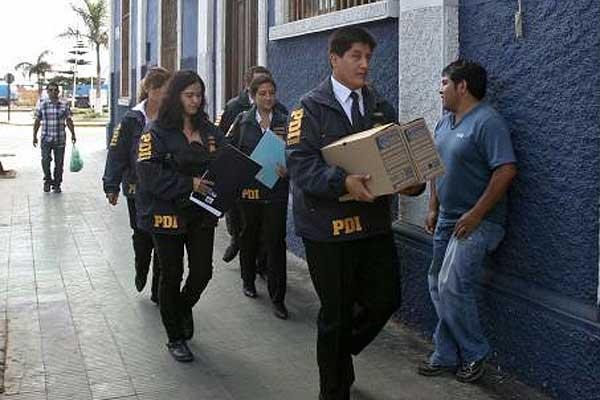 PDI aprehende a otros tres concejales y suma 18 detenciones por millonario fraude en Arica