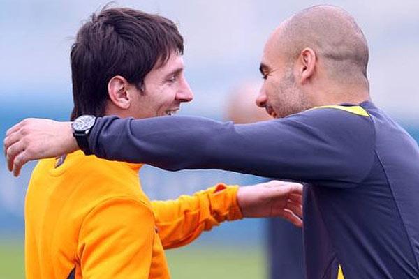 Messi lament� salida de Guardiola: 'Me dio mucho en lo profesional y personal'
