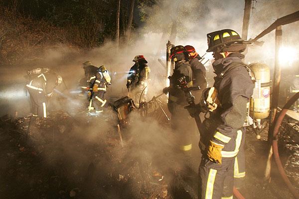 Tres muertos dej� incendio que consumi� vivienda en Osorno