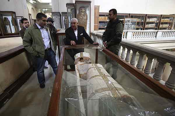 Crisis pol�tica en Egipto favorece a ladrones para saquear tesoros