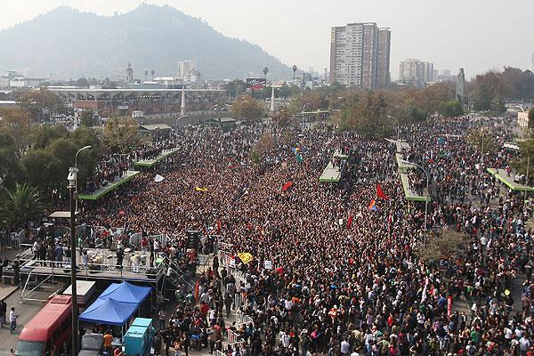 Confirman recorrido para marcha de estudiantes del pr�ximo mi�rcoles