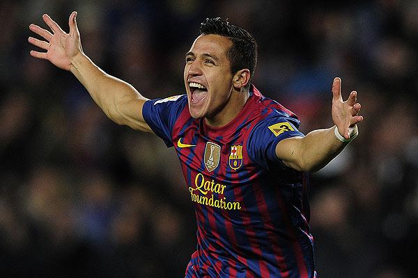 Alexis Sánchez se perfila como titular para la final de la Copa del Rey