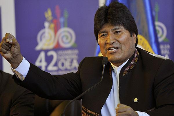 Evo Morales: Chile está 'nervioso' por reclamo boliviano de salida al mar