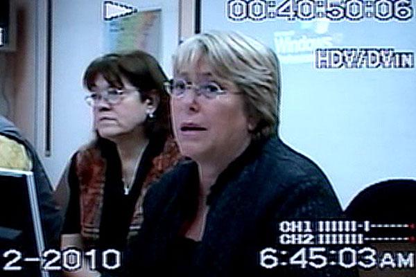 Caso 27-F: Fiscalía interrogará por segunda vez a ex Presidenta Michelle Bachelet