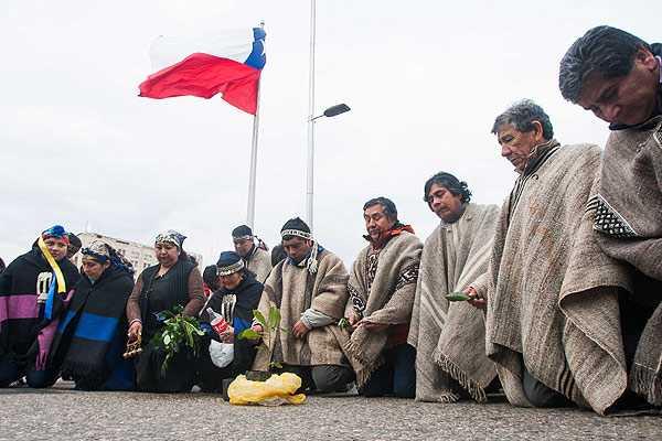 Mapuches cumplen 40 d�as en huelga de hambre en la Araucan�a