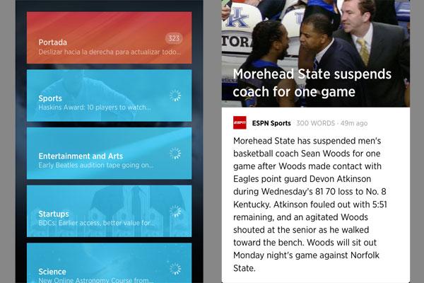 Adolescente ingl s crea aplicaci n que resume el contenido for Noticias mas recientes del medio del espectaculo