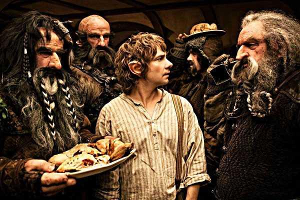'El Hobbit' nuevamente encabeza la taquilla norteamericana