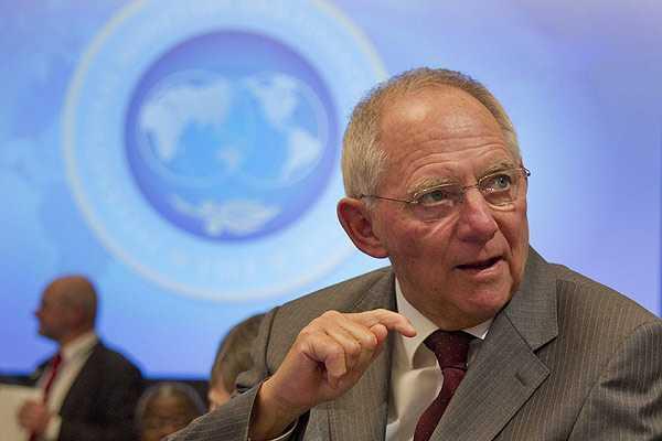 Ministro de Finanzas alem�n est� convencido de que lo peor de la crisis est� superado