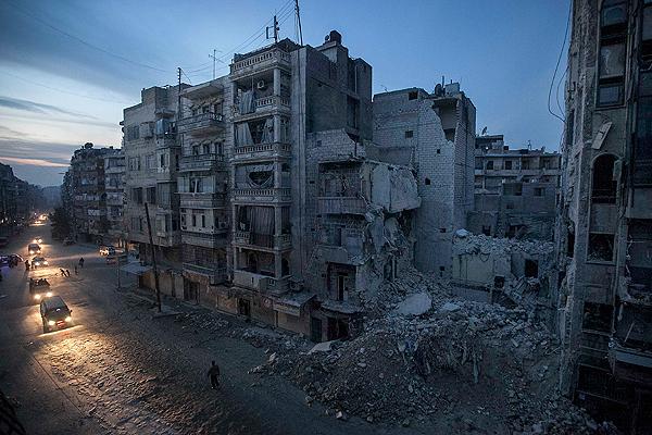 Siria padece la destrucci�n.