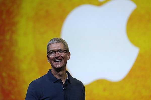 'Sueldo' del CEO de Apple cae 99% a US$ 4,17 millones al no adjudic�rsele acciones