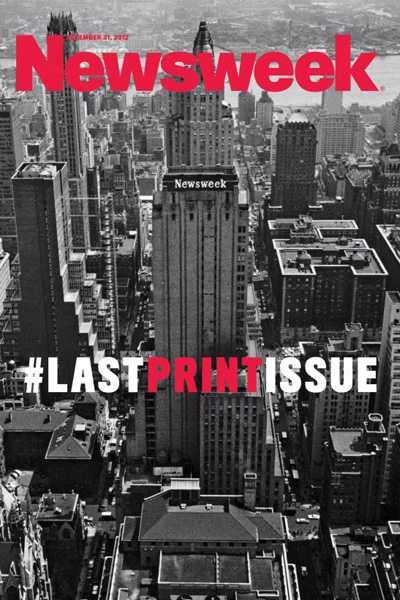 'Newsweek' publicar� el lunes su �ltimo n�mero en papel