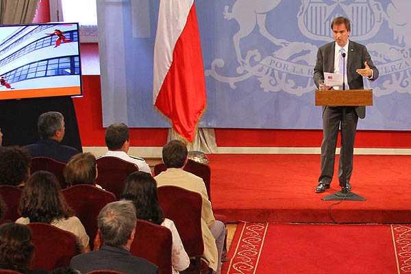 Cruz-Coke ratifica env�o de proyecto que crea nuevo Ministerio de Cultura