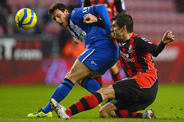 �ngelo Henr�quez debuta con el Wigan en empate por la FA Cup de Inglaterra