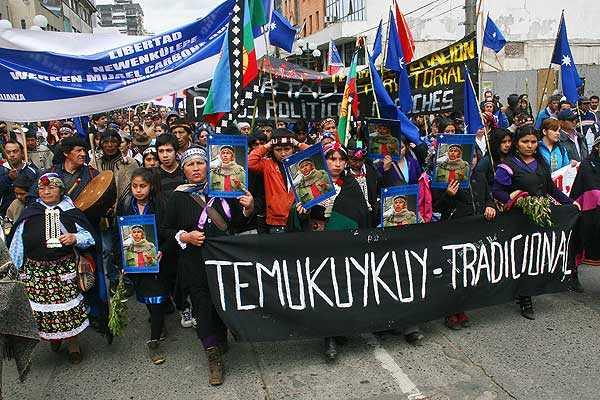 Comunidad Temucuicui denuncia violento allanamiento policial