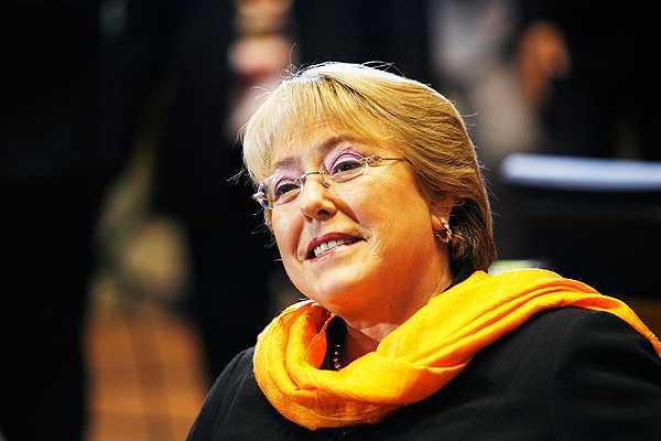 Bachelet est� en Chile: Lleg� a Caburgua proveniente desde Argentina