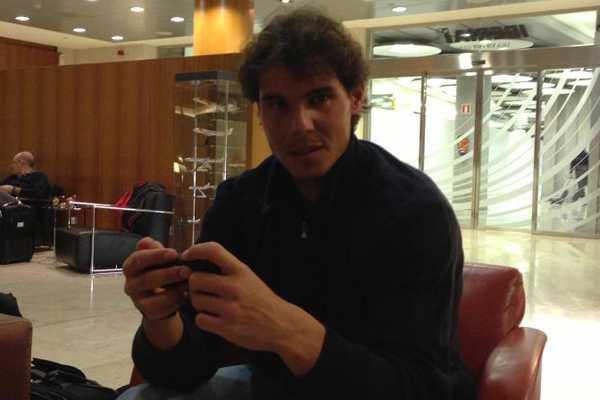 Conozca la agenda de Rafael Nadal en su primer d�a en Chile
