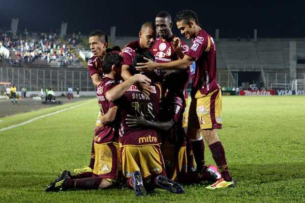 Deportes Tolima derrot� a Cerro Porte�o y es l�der del grupo 6 de la Copa Libertadores