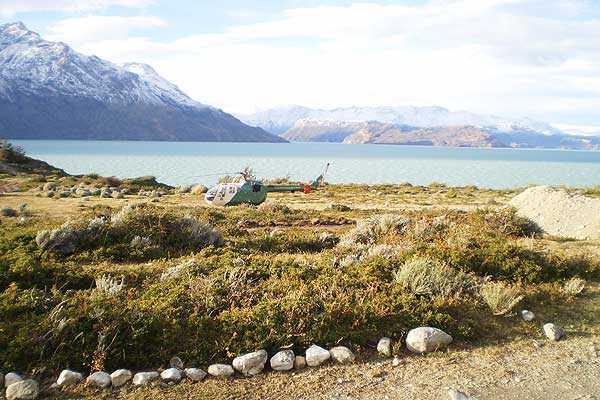 Realizan b�squeda de turista franc�s que intentaba cruzar hacia Argentina por el sur