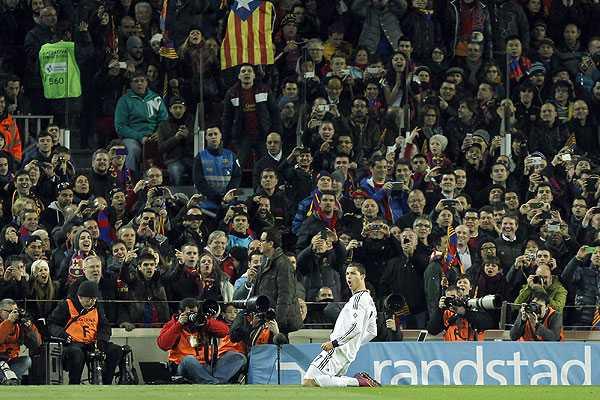 Sin S�nchez, Barcelona es goleado por el Real Madrid en la Copa del Rey