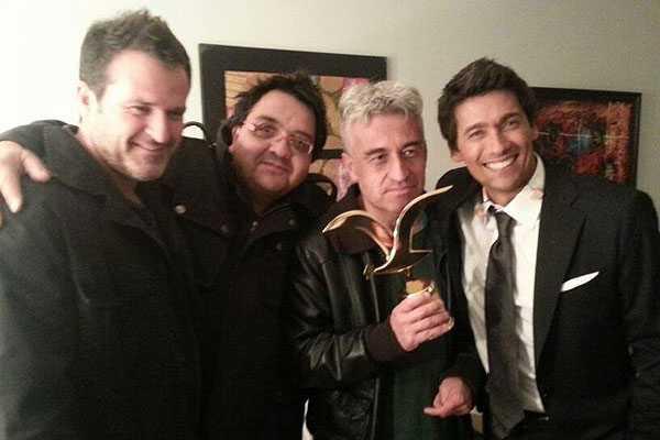 Jorge Gonz�lez recibi� la Gaviota de oro en camarines