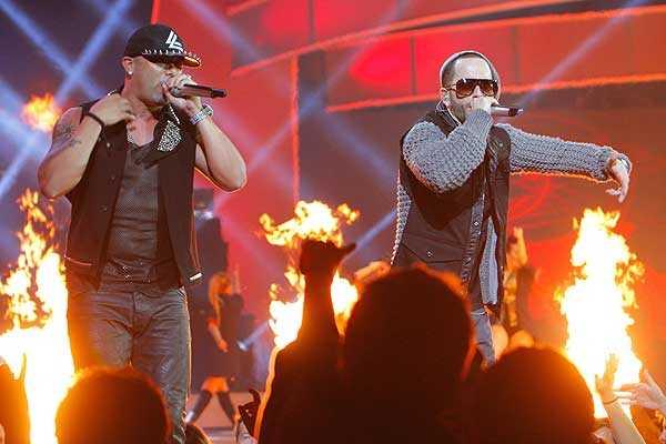 Wisin y Yandel confirmaron que el reggaet�n sigue vivo en Vi�a del Mar