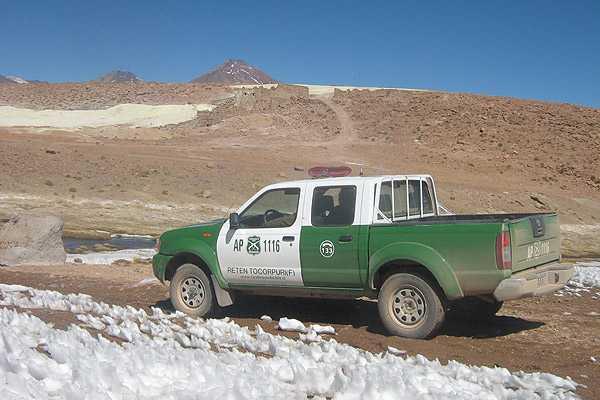 Sujetos fueron sorprendidos tratando de ingresar cinco veh�culos a Bolivia desde Chile