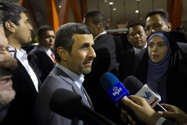 Diputados reprochan a Ahmadineyad haber viajado a Venezuela