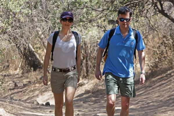 Pr�ncipes de Dinamarca iniciaron gira por Chile con trekking