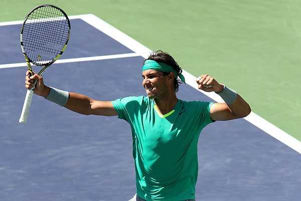 Nadal vence a Berdych en Indian Wells y alcanza su cuarta final luego de su regreso