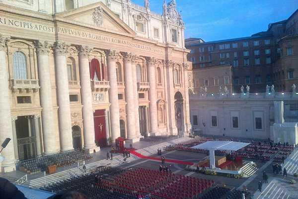 Minuto a minuto: Papa saluda a jefes de Estado tras misa de entronizaci�n (Fin)