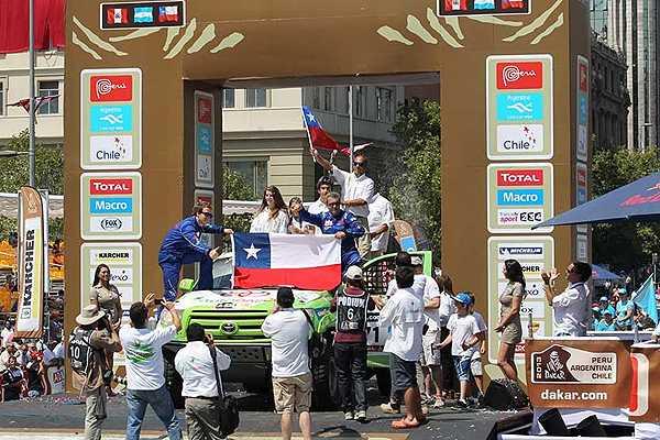Organizaci�n del Dakar confirma que meta en 2014 ser� en Valpara�so