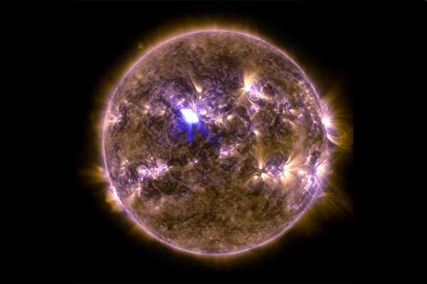 NASA entrega fotos de mayor tormenta solar de este a�o