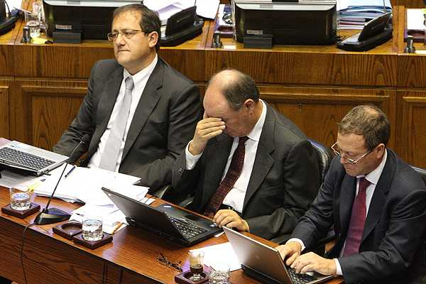 Actualizaci�n Parte 1 (Fin): Diputados opositores finalizan presentaci�n de libelo contra Beyer
