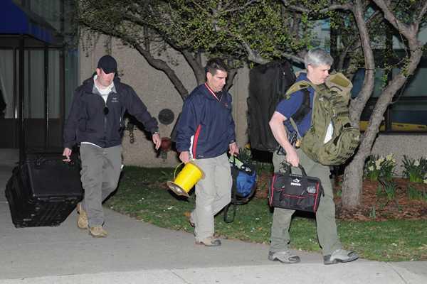 Bombazos en marat�n: Polic�a rastrea un departamento en suburbios de Boston