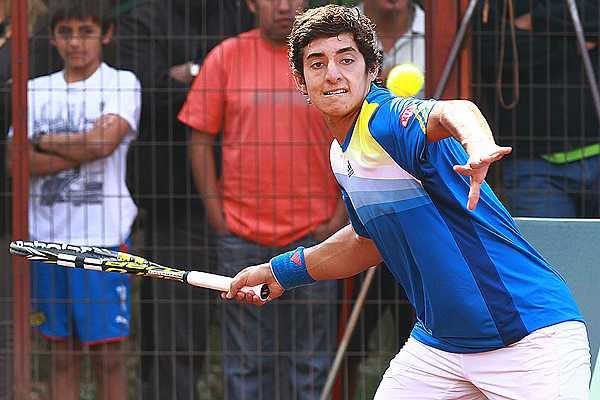 Christian Gar�n alcanza su primera final profesional en el Futuro 3 de Chile