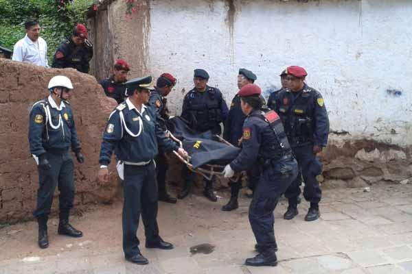 El mi�rcoles, la polic�a de Cusco hall� el cuerpo sin vida de Castillo.